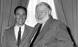 AE Hotchner with Ernest Hemingway in 1959.