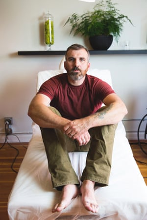 Dave Fitzpatrick, man with tattoed toes