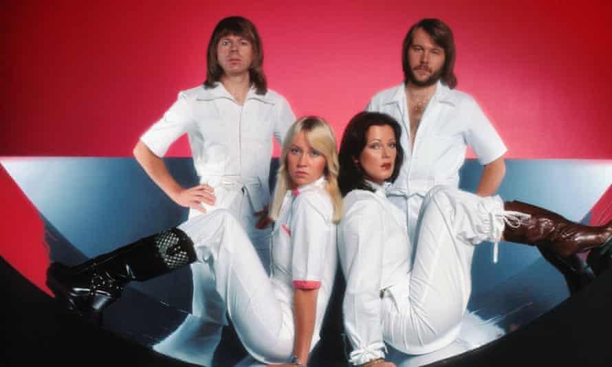 Björn Ulvaeus, Agnetha Fältskog, Anni-Frid Lyngstad and Benny Andersson in their mid-70s pomp.