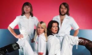 Björn Ulvaeus, Agnetha Fältskog, Anni-Frid Lyngstad & Benny Andersson of Abba.