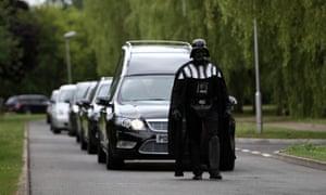 Darth Vader funeral