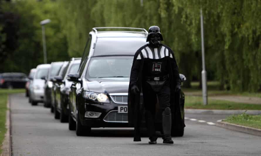 Darth Vader funeral director