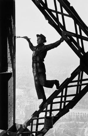 Marc Riboud Eiffel Tower, Paris, France, 1953
