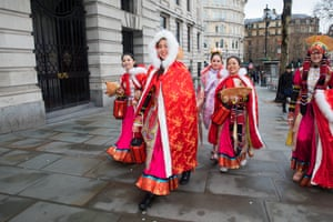 Women in traditional dress