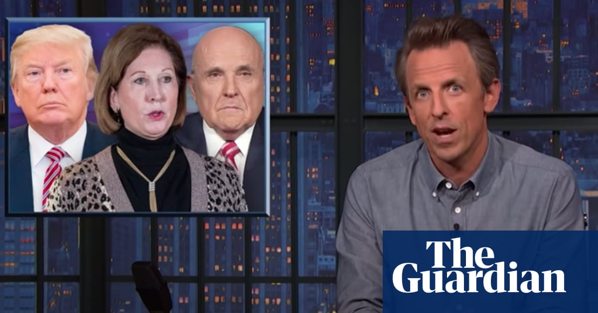 Seth Meyers: 'If Trump is the bull then his associates are the china shop'