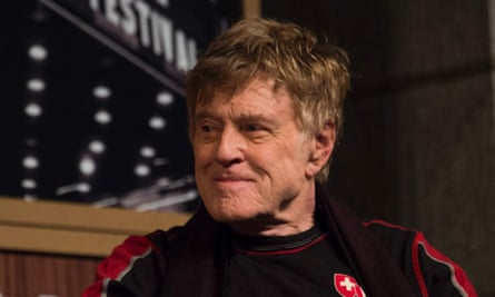 'Well, that's enough' … Robert Redford.