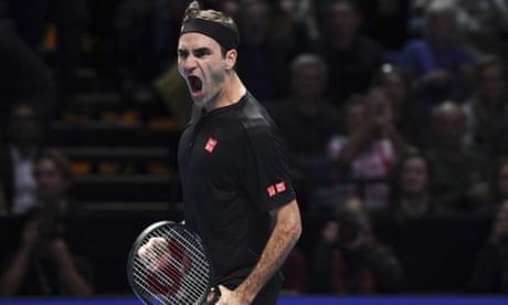 Roger Federer delivers masterclass in win over Novak Djokovic at ATP finals