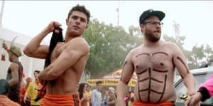 Zac Efron and Seth Rogen in Bad Neighbours 2: Sorority Rising.