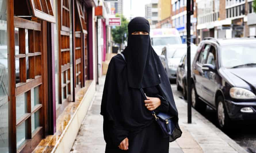 Rachida Serroukh in full veil