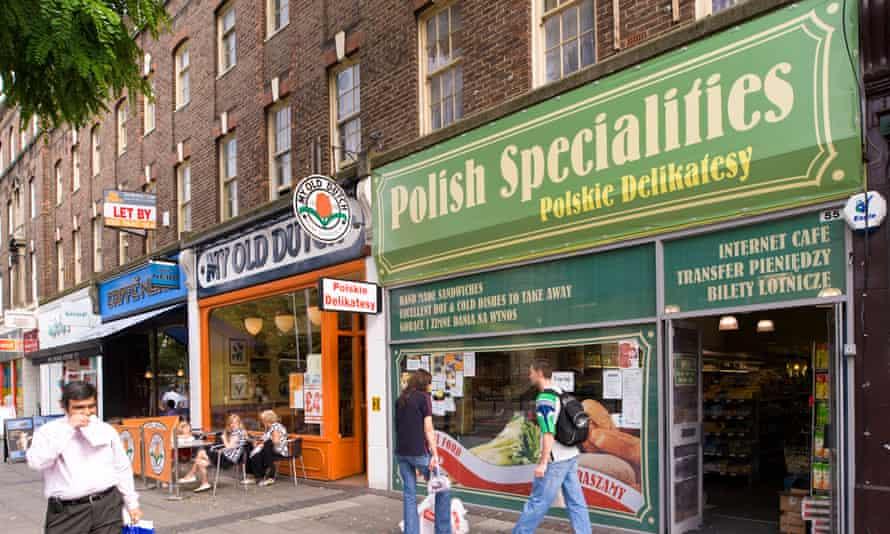 Polish grocery shop