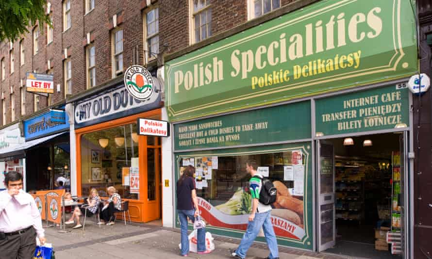 A Polish grocery in west London