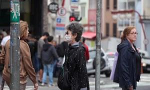 The Liberdade neighborhood in Sao Paulo, where xenophobia and racism against Asian Brazilians has increased during the coronavirus.