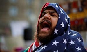 Boston protester