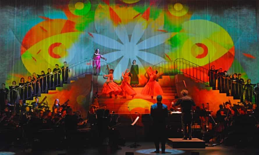 Ravi Shankar's Sukanya for the Royal Opera at Curve, Leicester.