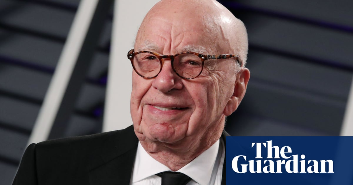 Rupert Murdoch receives dose of Covid vaccine in UK