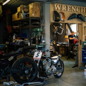Wrenchmonkees Custom Motorcycle shop, Copenhagen, Denmark
