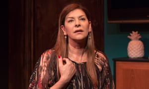 Thoughtful … Marina Sirtis in Michael Dennis's Dark Sublime.