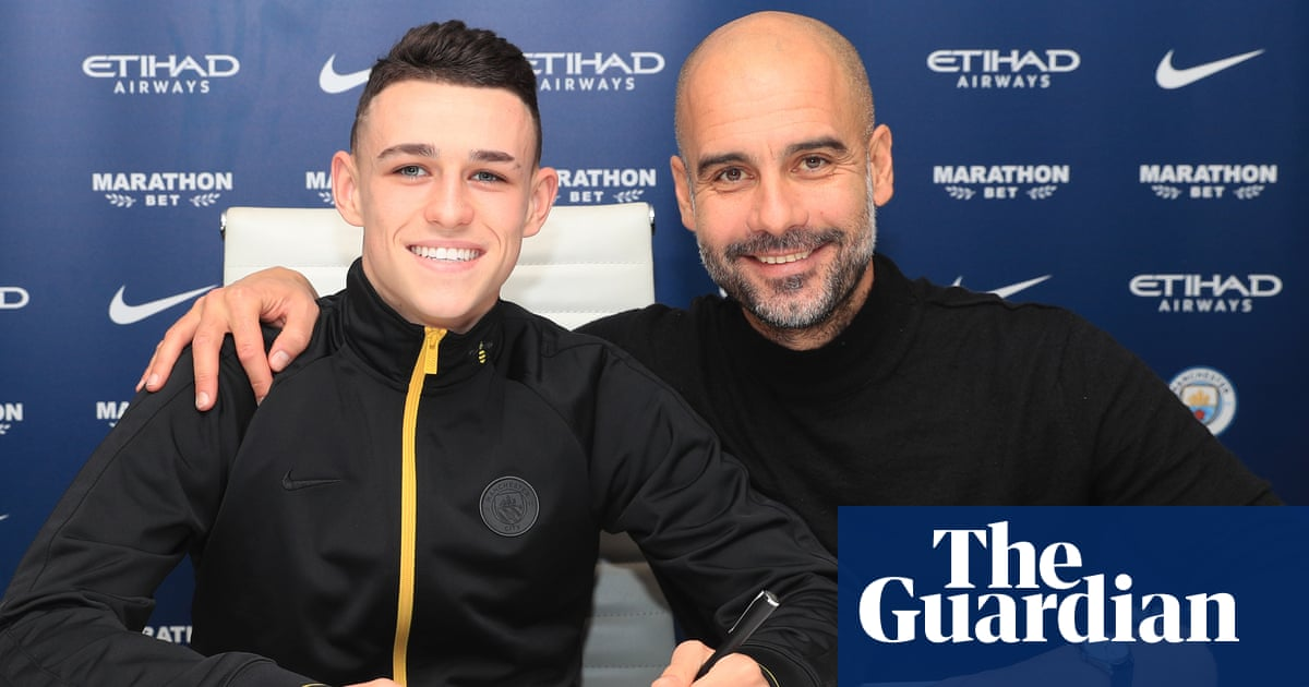 Pep Guardiola wants to hear more from Manchester City's 'shy' Phil Foden
