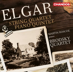Elgar: String Quartet; Piano Quintet album artwork.