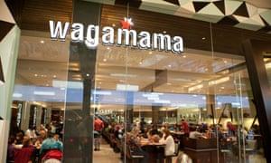 Wagamama restaurant