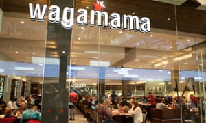Wagamama has 166 branches in the UK.