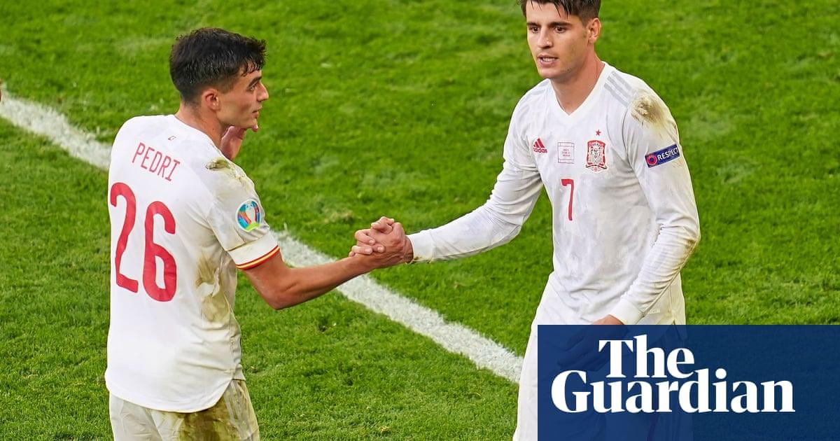 Álvaro Morata finds his range as Spain begin to believe again