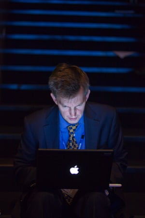 Andrew Sparrow blogging about Kenneth Clarke during the 2009 Conservative Party conference in Manchester.