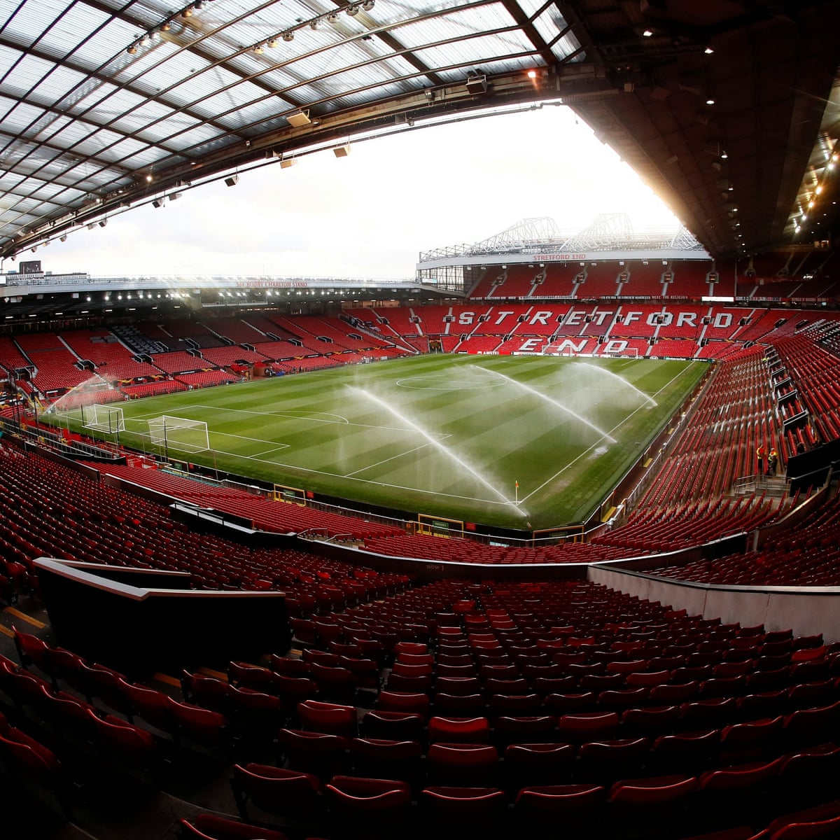 manchester united to install safe standing area for 1 500 fans football the guardian manchester united to install safe