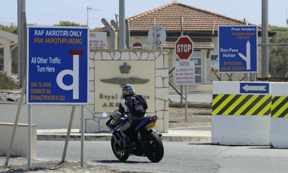 RAF Akrotiri near Limassol, Cyprus