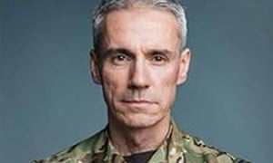 Lt Col Craig Palmer, 50, who was awarded a Queen's Commendation for Bravery.