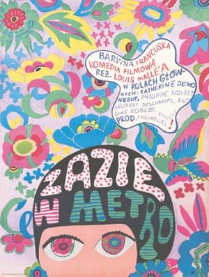 Zazie dans le Métro (1960) by Jolanta Karczewska (Poland).