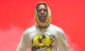 A$AP Rocky performing in June in Paris.