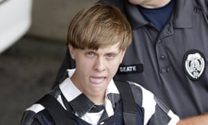 Dylann Roof is facing the death penalty for the killing of nine members of a black church in 2015.