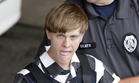 Charleston Shooting Dylann Roof Shows No Remorse Before Sentencing Charleston Shooting The Guardian