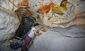 A dedicated team of artists have worked for three years to create the Lascaux replica.