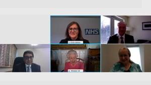 Participantes en la videollamada