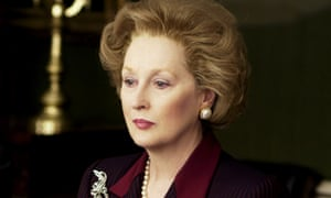 Meryl Streep as Margaret Thatcher in the 2011 film The Iron Lady