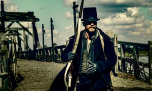 'This whole thing is insane' … Hardy as James Delaney in Taboo.
