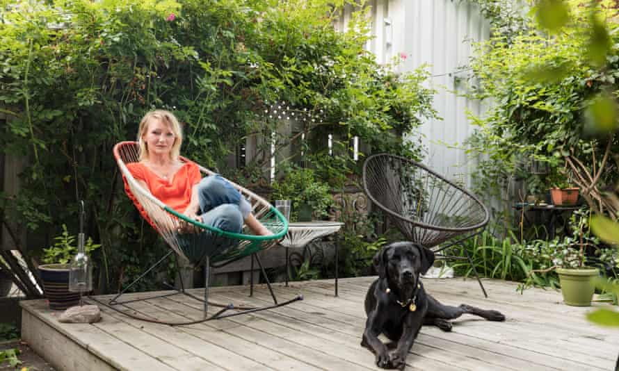 Sarah Doucet, the lead plaintiff in the action against Winnipeg Ballet School, at her home in Toronto.