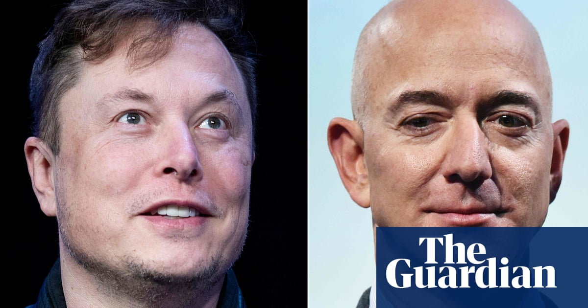 Elon Musk v Jeff Bezos: the ridiculous rivalry of the world's richest men