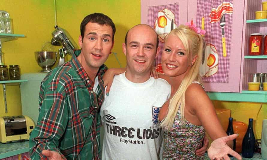 A blast from the repast ... The Johnny Vaughan and Denise van Outen era.