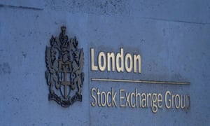 The London Stock Exchange Group offices are seen in the City of London.