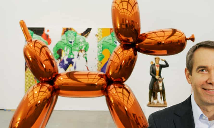 Jeff Koons holds the sale record for a piece of art by a living artist with Balloon Dog (Orange),