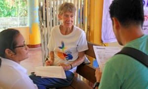 Sister Patricia Fox, the Australian nun detained in the Philippines