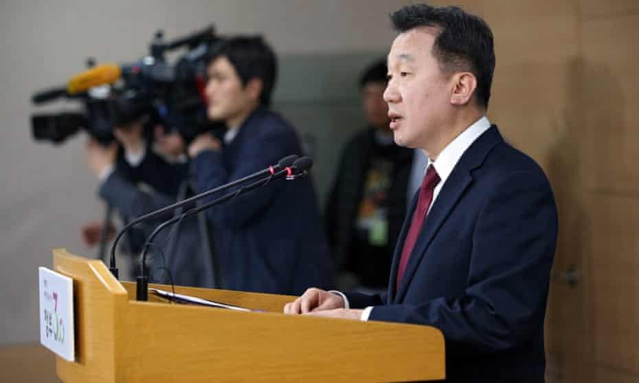 Jeong Joon-hee, South Korean unification ministry spokesman