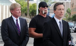 Charles Harder with Hulk Hogan during the case against Gawker.