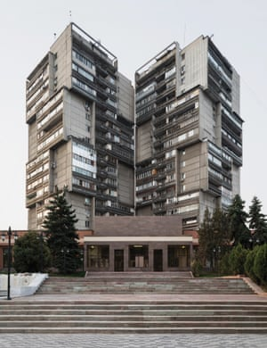 Residential towers, 1984, Almaty, Kazakhstan