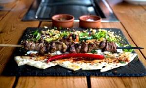 A kebab at Fes