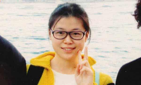 Zhao Wei, who is facing political subversion charges in China after falling victim to president Xi Jinping's crackdown on dissent