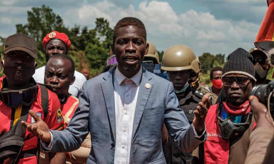 Robert Kyagulanyi, also known as Bobi Wine